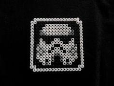 Posavasos de hama beads con Soldado Imperial de Star Wars