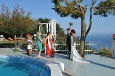 EVENTS' CELEBRANT IN ITALY, AMALFI COAST, CAPRI, SORRENTO AND MORE..... www.amalfi-coast-celebrant.it ♥ THROWING CONFETTI AT THE BRIDE AND GROOM! ; ) ♥   http://www.initalywedding.com/home-en