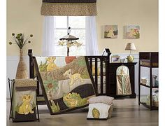 "(Disney Lion King - Disney  -Babies""R""Us) Classic baby simba bedding. Can you say adorable?!"