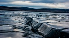 Ice crack by Florian Radu