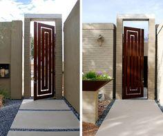 Courtyard door: ibarra rosano design architects | tucson arizona