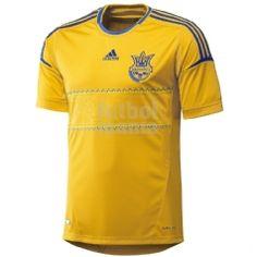 Primera equipación de Ucrania para la Eurocopa del 2012. Consíguela aquí: http://www.futbolmanianet.com/futbol/X11627/camiseta-adidas-camiseta-oficial-ucrania-1a-eurocopa-12?orden==1