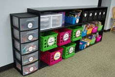 Adventures of a 6th Grade Teacher: Where I Teach Wednesday. omg this is absolutely amazing!!!!! incredible way to organize your classroom!