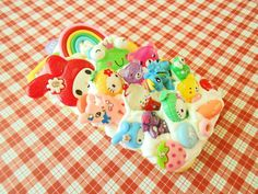 """One of a kind - iPhone 5/5s """" Kawaii Overload"""" Decoden case.  This decoden case is not for the feint at heart! It is a overload of kawaii colorful cabochon mix of characters and candies on a white """"whip cream: squishy background!  - This is a one-of-a-kind case - You WILL get the exact same c..."""