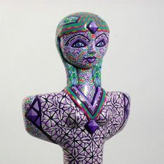 Cycladic Inspired Violin Figurine Venus Gaia by LisaGarnerArt Gaia Goddess, Los Angeles Museum, Getty Museum, Polymer Clay Canes, Modern Photography, Aquarius, Violin, Unity, Venus