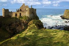 """pagewoman: """" Dunluce Castle, County Antrim, Northern Ireland """""""