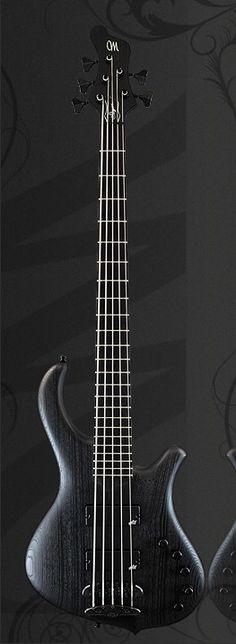 Mayones Slogan 5 Custom Gothic Bass