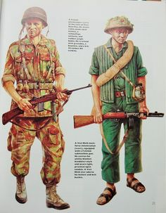 Viet Minh and French Uniforms from Vietnam