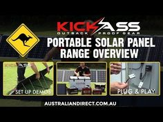 Buy 12v Portable Folding Solar Panels for Camping - Online!