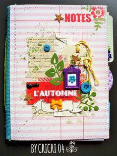 Mini automne By Cricri04 Scrapbooking, Mini Albums, Blog, Fall Season, Scrapbook, Scrapbooks, Extended Play, Memory Books, The Notebook