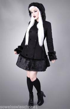 Restyle-Samt-Fell-Mantel-Winter-Jacke-Steampunk-Gothic-Lolita-Fur-Coat-Jacket