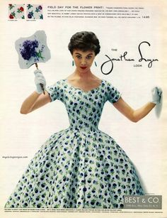 The Jonathan Logan Look 1954