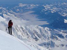 climbing denali   Mountaineers oppose $500 park service climbing fee for Denali