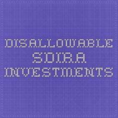 disallowable SDIRA investments