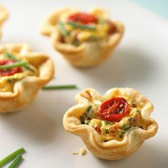 Quiche lorraine tartlets for those bridal partys recipe and pan at www.pamperedchef.biz/maura