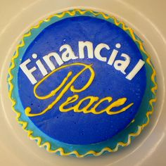 Dave Ramsey Cake  A graduation cake for Dave Ramseys Financial Peace University All