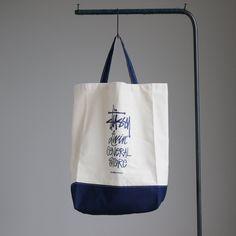 GS 2Way Tote Bag Basic Stock #natural×navy