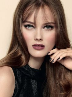 Chanel makeup look - wish I could do my eyes like this