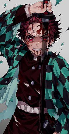 Kamado Tanjirou - Kimetsu no Yaiba - Image - Zerochan Anime Image Board Otaku Anime, Manga Anime, Anime Naruto, Anime Guys, Anime Hair, Anime Angel, Anime Demon, Samurai Anime, Fan Art Anime