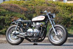 ♠Milchapitas-Kustom Bikes♠: Honda CB750 By A Beard