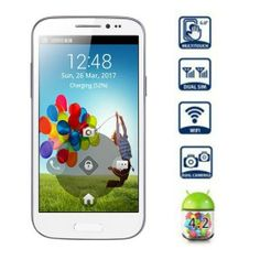 GT-T9500 Android 4.2 Smartphone with 5.0 inch WVGA Screen SP6820 1GHz - White (Unlocked) for just $102.17 (a 60% savings!) at TripleClicks. http://vitalviralpro.com/m/122485