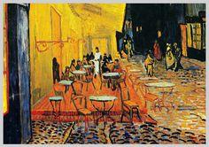Vincent van Gogh – Nachtcafé in Arles 1888.