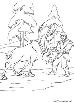 Frozen Coloring Pages For Kids 33