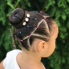 Today I bring you this beautiful Hairstyle with elastics inspired by 💖 swipe for more views ➡️🙂… Childrens Hairstyles, Lil Girl Hairstyles, Princess Hairstyles, Braided Hairstyles, Toddler Hairstyles, Short Hairstyles, Wedding Hairstyles, Curly Hair Styles, Natural Hair Styles
