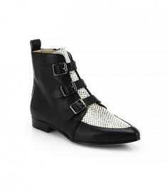 Jimmy Choo Marlin Leather Ankle Boots