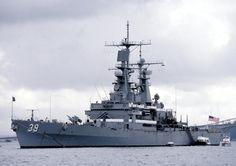 USS Texas (CGN-39) - Virginia class Cruiser (USA)