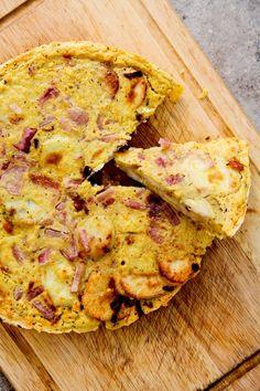 Potato And Onion Omelette