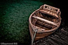 The Silent Boat - Croatia  by RaymondRis