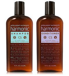 3 STARS | Intelligent Nutrients Harmonic Hair Care Duo | Not terrible, but not as creamy and nourishing as I like my shampoo and conditioner to be
