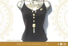 Collar con aretes ITALIA by Pilar Justo