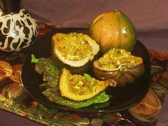 Stuffed Acorn Squash for the Ancestors and Maman Brigitte Sacred Stuffing.