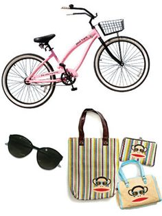 This summer, you could be pedaling a cute pink bike around town...enter to win May's Grand Prize! #17college
