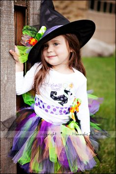 CUSTOM Wickedly Sweet Witch Tutu ONLY 1 2 3 4 yr by HannahsTutus