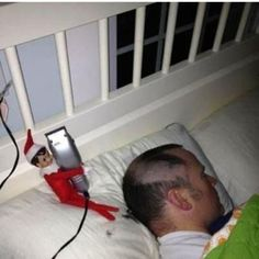 20 Reasons Not To Trust The Elf On The Shelf... Oh my these made me laugh out loud! Especially #20!