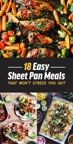 18 Easy Sheet Pan Meals That Won't Stress You Out