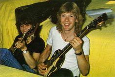 Steve Clark & Pete Willis