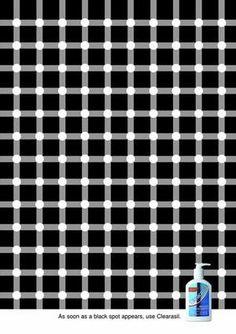 Clearasil: Optical illusion