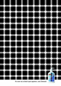 Clearasil: Optical illusion