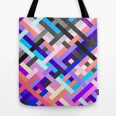 Geometric No. 14 Tote Bag by House of Jennifer - $22.00