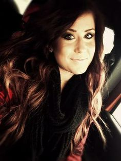 Chelsea Houska With Auburn Hair  Love her hair!