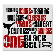 ONE Black Belt 2 Poster