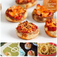 7 recetas de aperitivos… ¡ricos y fáciles! Baby Food Recipes, Mexican Food Recipes, Snack Recipes, Cooking Recipes, Mini Appetizers, Appetizer Recipes, Snacks, Food Humor, Easy Cooking