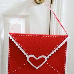 DIY: valentine envelope