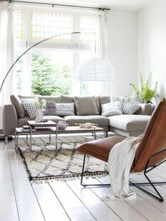 pour avoir un salon scandinave avec deco nordique et tapis scandinave