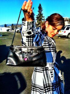 Handbag, coat