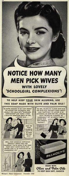 Palmolive Company's Palmolive Soap – Notice How Many Men Pick Wives (1940)